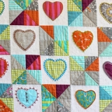 Hearts & Lollipops - detail