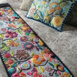 Spring Garden Runner & Cushion