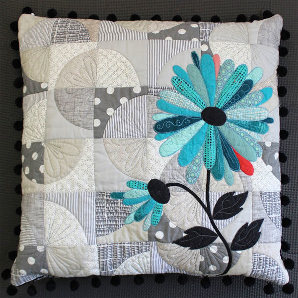 Daisy Paths Cushion