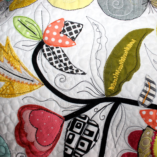 The Magical Six- Free Motion Quilting Sample