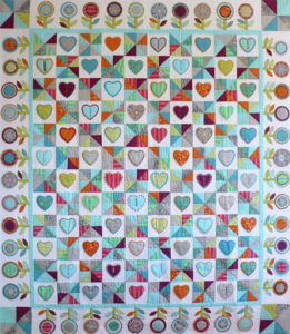 Hearts and Lollipops Quilt