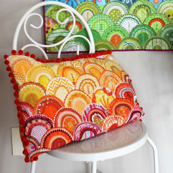 Glamourous Clams Cushion