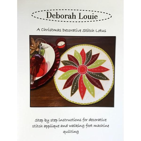 Christmas Lotus by Deborah Louie